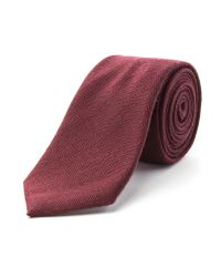 Racing Green | Purple Spencer Herringbone Tie for Men | Lyst