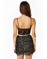 Nasty Gal - Black Coveted Skirt - Lyst