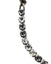 Lanvin - Gray Kristin Long Necklace - Lyst