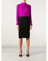 Tom Ford Black Pencil Skirt