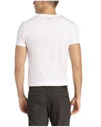 BOSS Orange - White T-shirt 'timblin 3' In Pima Cotton for Men - Lyst