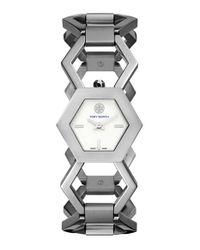 Tory Burch - Metallic 'amelia' Bracelet Watch - Lyst