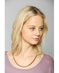 Urban Outfitters - Metallic Drapeback Necklace - Lyst