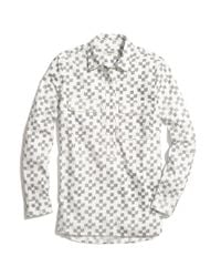 Madewell - Natural Market Popover in Crosshatch Ikat - Lyst