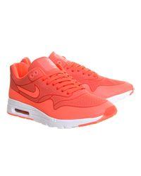 Nike Orange Air Max 1 Ultra Moire (l)