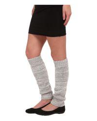 UGG - Gray Classic Marled Leg Warmer - Lyst