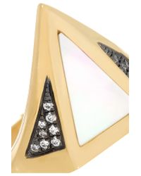 Noor Fares - Metallic Vedra 18-karat Gold Multi-stone Ring - Lyst