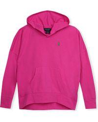 Ralph Lauren - Pink Hooded Top - Lyst