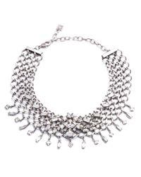 DANNIJO | Metallic Marianna Jet Choker Necklace | Lyst