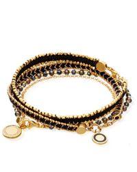 Astley Clarke - Cosmos Friendship Bracelet, Women's, Blue, Grey - Lyst