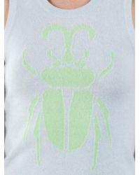 Lucien Pellat Finet - Gray Beetle Sweater - Lyst
