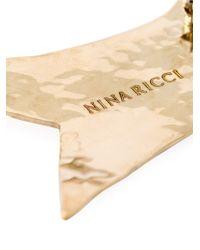 Nina Ricci | Metallic Bird Brooch | Lyst