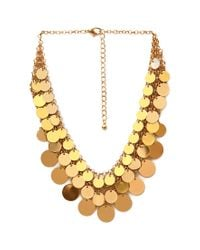Forever 21 - Metallic Boogie Nights Layered Necklace - Lyst