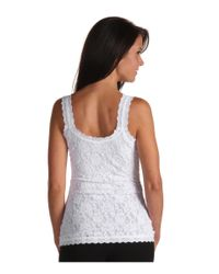Hanky Panky White Signature Lace Lined Cami