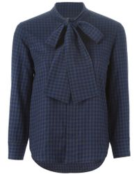 DSquared² | Blue Checked Shirt | Lyst