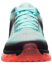 Nike | Blue Women'S Air Max+ 2014 Running Sneakers From Finish Line | Lyst