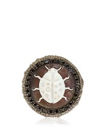 Amedeo | Metallic Special Edition Caviar Ring | Lyst