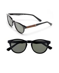 Shwood | Black 'francis' 49mm Polarized Sunglasses for Men | Lyst