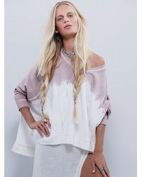 Free People | Purple Mystic Pullover | Lyst