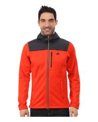 Adidas | Orange Climaheat Hoodie for Men | Lyst