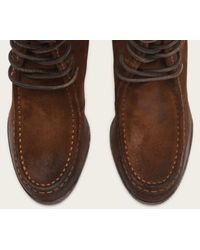 Frye | Brown Parker Moc Short | Lyst