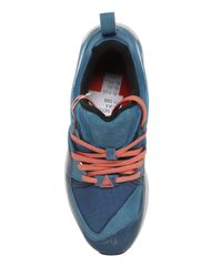 Puma Select | Blue Blaze Of Glory Leather & Mesh Sneakers | Lyst