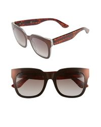 Oxydo | Brown 52mm Retro Sunglasses | Lyst