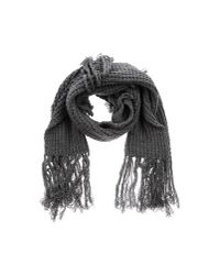 CoSTUME NATIONAL   Gray Oblong Scarf   Lyst