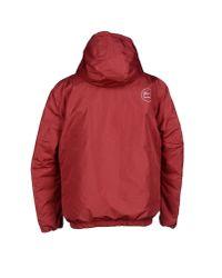 Penn-Rich Red Down Jacket for men