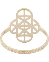 Grace Lee | Metallic Gold Lace Deco Ring Vii | Lyst