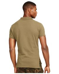 Polo Ralph Lauren | Green Classic-fit Mesh Polo for Men | Lyst