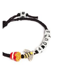 Venessa Arizaga | Black Fries B4 Guys Friendship Bracelet | Lyst