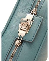 Max Mara - Blue Margaux Leather Cross-Body Bag - Lyst