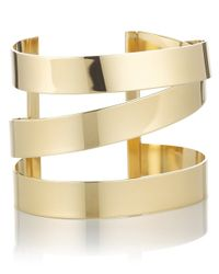 Étoile Isabel Marant | Metallic Gold Brass Cuff Bracelet | Lyst
