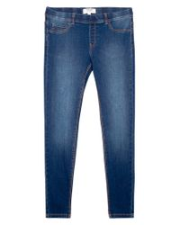 Mango Blue Piti Jeggings