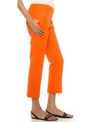 JOSEPH | Orange Queen Pants | Lyst
