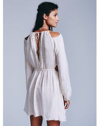 Free People - Gray Endless Summer Womens Face The Facts Fit N Flare - Lyst