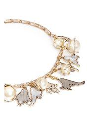 Lulu Frost Metallic 'delirium' Charm Necklace
