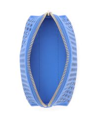Loeffler Randall - Blue Small Cosmetic Case - Lyst