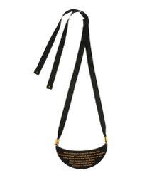 A'n'd Black Necklace