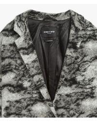 Obey - Gray Tavertine Coat - Lyst