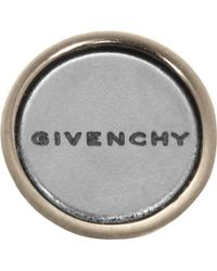 Givenchy - Black Large Shark Earring In Pale Gold-Tone Brass And Plexiglas - Lyst