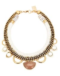 Lizzie Fortunato | Metallic 'the Apolonia' Necklace | Lyst