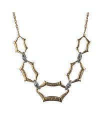 Alexis Bittar | Metallic Maldivian Scalloped Link Necklace | Lyst
