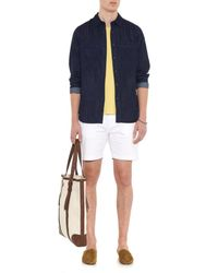 Burberry Brit   Yellow Havent Cotton T-Shirt for Men   Lyst