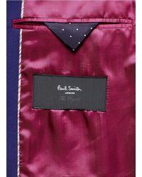 Paul Smith - Blue Slim Fit Wool Suit for Men - Lyst