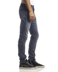 Hudson Jeans - Blue Sartor Slouchy Skinny for Men - Lyst