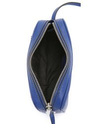 Marc By Marc Jacobs Blue Sally With Chain Cross Body Bag - Cardamom