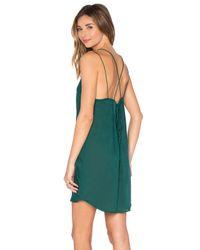 Acacia Swimwear Green Kama'aina Mini Dress