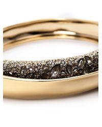 Alexis Bittar | Metallic Hidden Encrusted Bangle | Lyst
